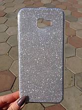Чехол Samsung J4 Plus Silver Dust Dream