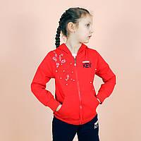 Детский спортиный костюм девочке с жемчугом тм Grace Венгрия размер 116,122, 134, 146