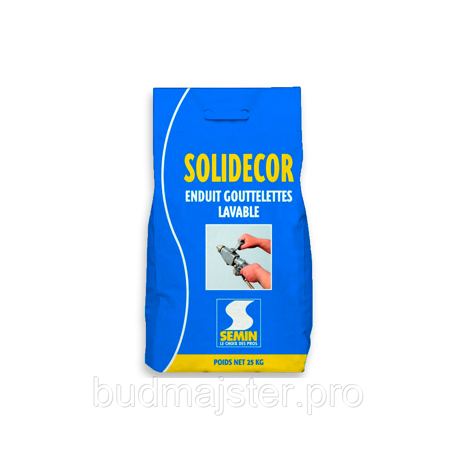 Шпаклівка  SEMIN SOLIDECOR LAVABLE, 25 кг