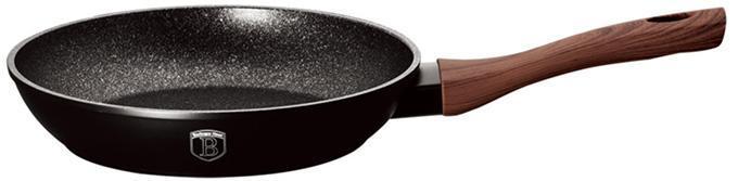 Сковорода Berlinger Haus Ebony Rosewood Ø28см, мраморное антипригарное покрытие