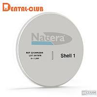 Цирконієвиий диск NACERA®, колір SHELL1, висота заготовки 12