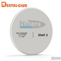 Цирконієвиий диск NACERA®, колір SHELL3, висота заготовки 12