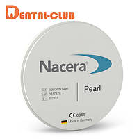 Цирконієвиий диск NACERA® PEARL SHADED транслюцентного забарвлення 25, C3