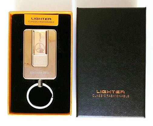 Электрическая USB Зажигалка 2 в 1 (брелок - зажигалка), фото 2