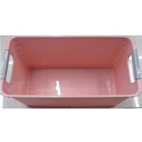 Корзина для белья с ручками Stenson Pink (R84533)