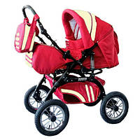 Коляска-трансформер Trans Baby Rover 15/CR Red/Cream (TB.Ro.15/cr)