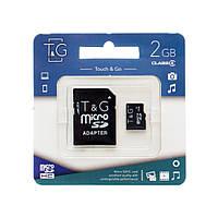 T&G microSD Class 4 2GB (22018)