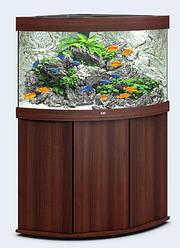 Аквариум угловой Juwel (Джувел) TRIGON LED 190, коричневый 190 литров