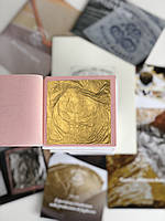 Сусальное золото 2,0 гр, кн. 91х91 мм GUISTO MANETTI