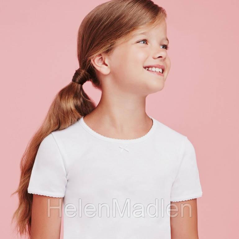 Футболка для девочки Ellepi белая Италия
