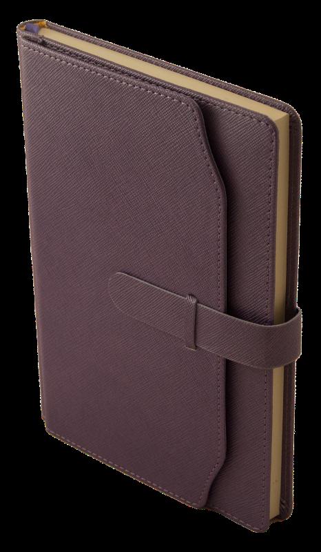 Щоденник недатований CREDO, A5, фіолетовий