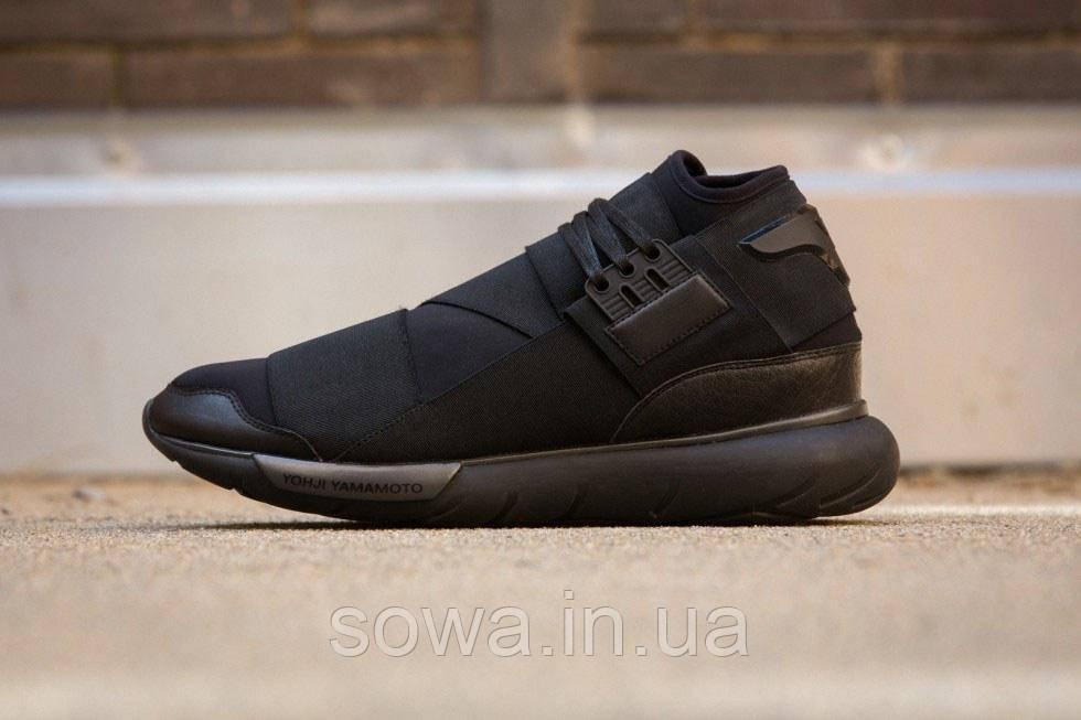 """✔️ Кроссовки Adidas Y-3 Qasa High """"Black"""""""