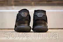 """✔️ Кроссовки Adidas Y-3 Qasa High """"Black"""" , фото 3"""