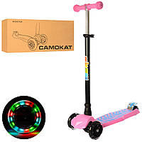 Самокат Scooter MAXI JR 3-060-8-P Pink (JR 3-060-8-P)