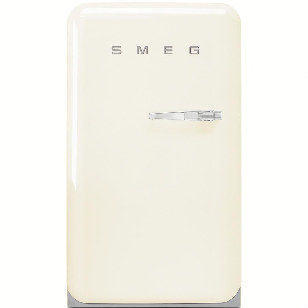 Отдельно стоящий однодверный холодильник, стиль 50-х годов Smeg FAB10LP кремовый