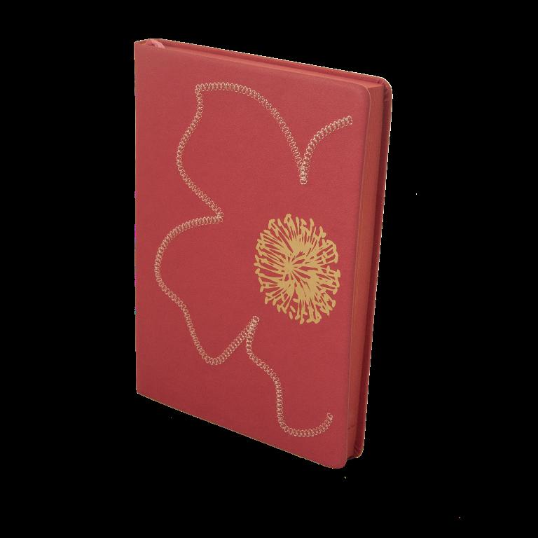 Щоденник недатований FIORE, A5, 288 стр. рожевий