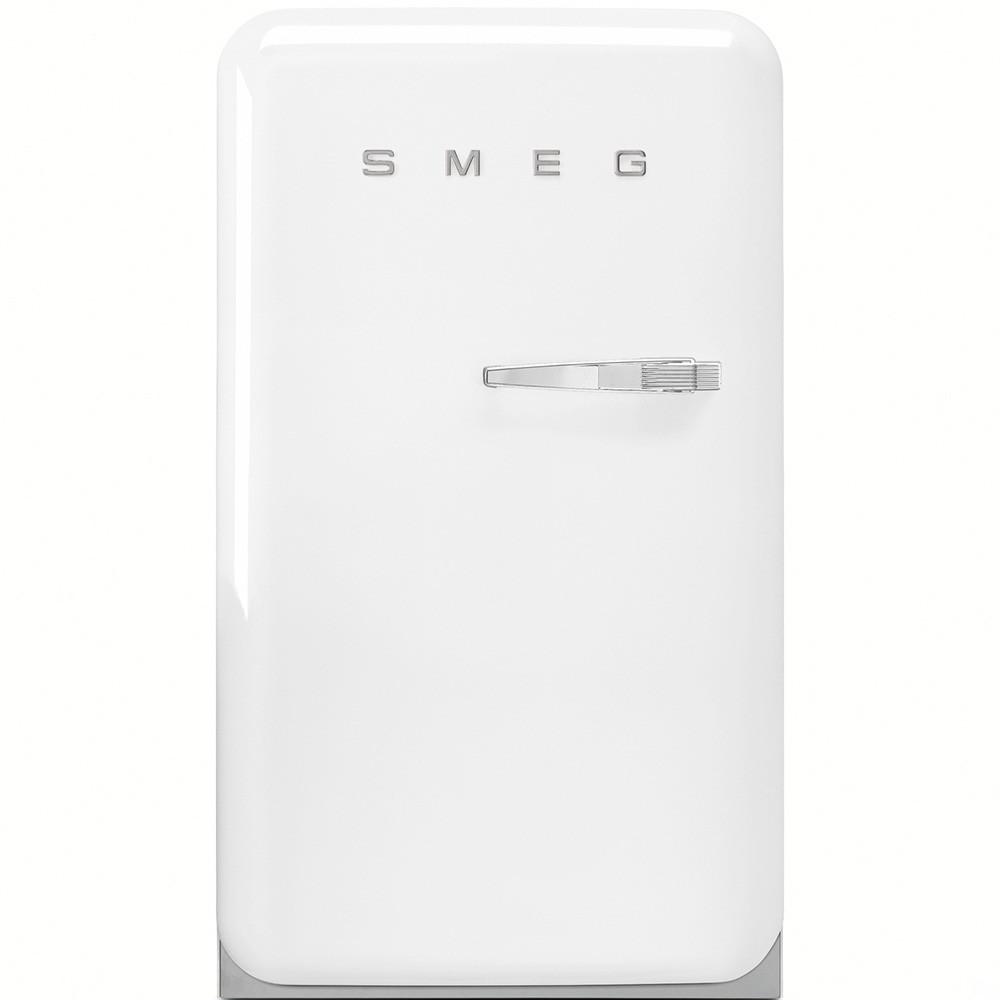 Отдельно стоящий однодверный холодильник, стиль 50-х годов Smeg FAB10LB белый