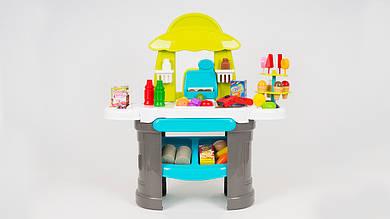 Игровой набор - супермаркет. Состоит из 61 предмета