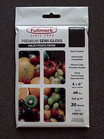 Бумага для струйной печати Fullmark 4R (102 x 152 mm) 20 листов 260 г/м2 полуглянцевая (08142)