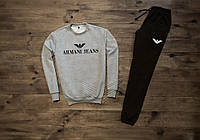 Мужской спортивный костюм Armari Jeans отличного качества Реплика