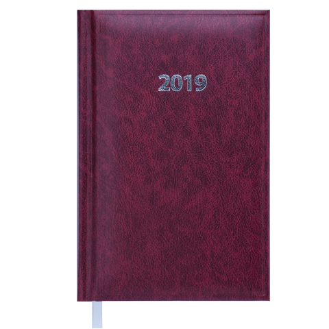 Щоденник датований 2020 BASE (Miradur), A6, 336 арк., бордовий
