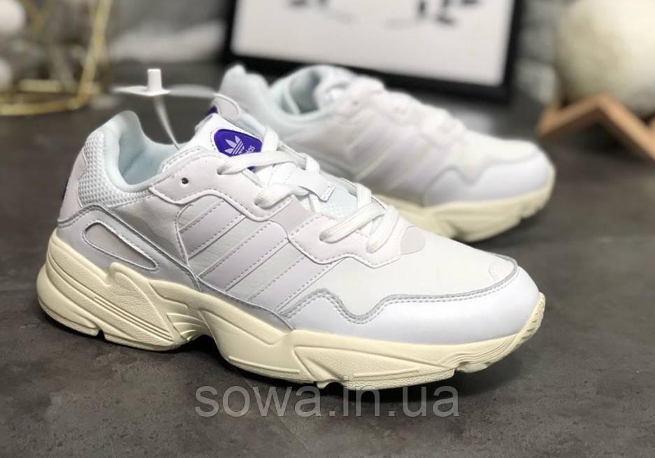 "✔️ Кроссовки Adidas YUNG-96 ""Grey/White"""