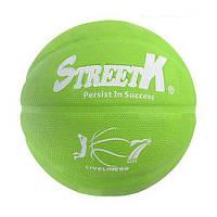 """Баскетбольный мяч """"StreetK"""" (салатовый) BT-BTB-0023"""