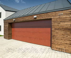 Ворота TREND размер 4000х2200 мм - ALUTECH Белоруссия, гаражные секционные