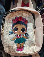 Рюкзак искусственная кожа! LOL ЛОЛ