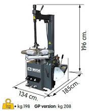 Стенд шиномонтажный SICE S41E (полуавтоматический 380V)