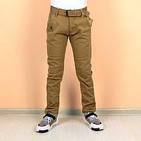Детские джинсы штаны горчичные на мальчика тм race Венгрия размер 146, фото 1