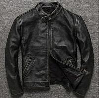 Мужская кожаная куртка (1341)