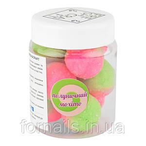 Сахарный скраб для тела FRESH&CRAFT, клубничный мохито
