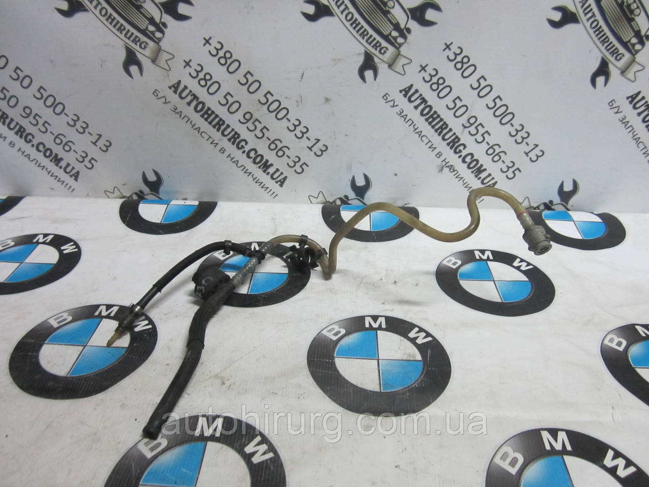 Трубка подачи топлива на топливную аппаратуру BMW e65/e66 730d, фото 1