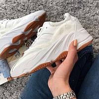 Женские кроссовки в стиле Adidas Yeezy Boost 700 Wave Runner White