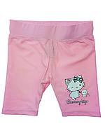 Детские купальные шорты для девочки, розовые (PS18)