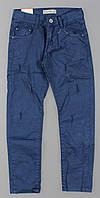 Котоновые брюки для мальчиков Grace оптом , 134-164 рр. {есть:152}, фото 1