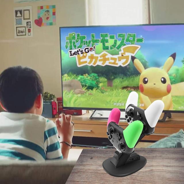 Зарядная станция для контроллера Nintendo Switch  Pro