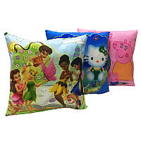Подушка детская № 1 с героями, в ассортименте, 24970-1                                              , фото 1