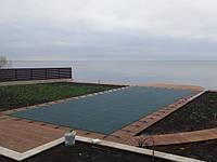 Защитный тент на бассейн