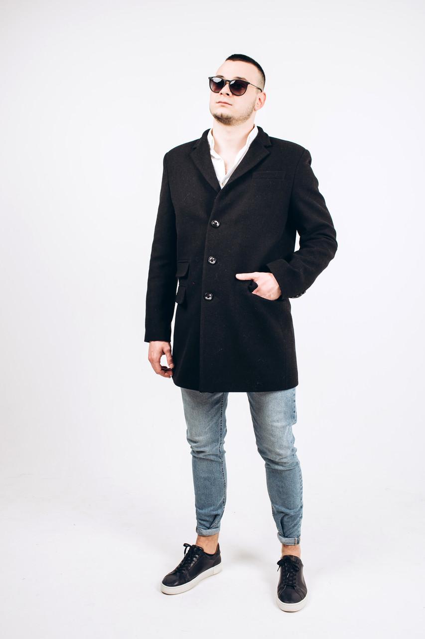 Пальто мужское из шерсти Мэлтон М7