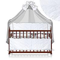 Комплект постельного белья Alex Magic Credle 90 х 120 White (59584)