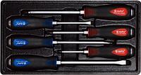 Набор ударных крестовых и шлицевых отверток, 6 предметов AmPro T32185