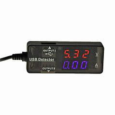 ➛Вольтметр/амперметр Lesko KW-203 для тестирования напряжения и вольтажа 12V USB