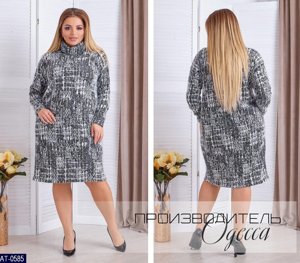 """Платье женское (48-50;52-54;56-58) """"Enio"""" 2P/NR-1346"""