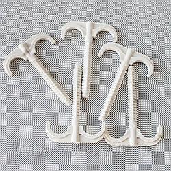 Дюбель-крюк двойной 16-25 (зонтик) 100 мм