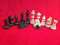 Шахматные фигуры деревянные утяжеленные в стиле Стаунтона