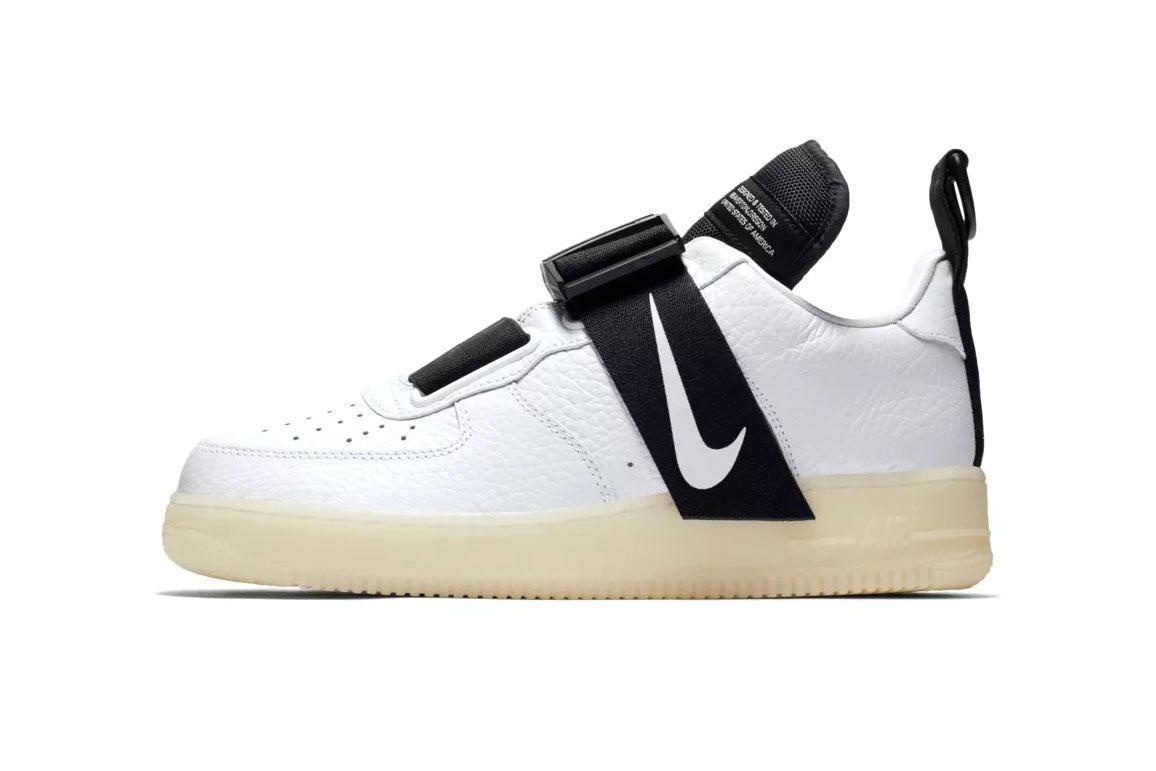 "Кроссовки Nike Air Force 1 Utility ""Белые"""