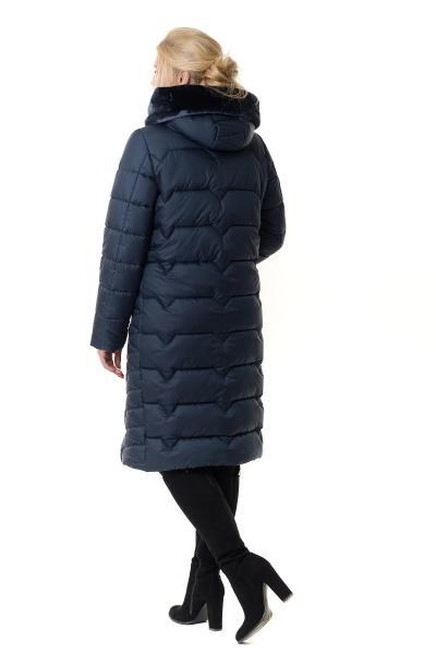 14832db8 Пуховик женский зимний на силиконе BETTY (цвет темно-синий), цена 1 480  грн., купить в Харькове — Prom.ua (ID#803534725)