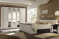 Спальня 180BRW Luca 180 Содержит SZF5D, LOZ 180, KOM1 x2 лиственница сибиу /  сосна ларико